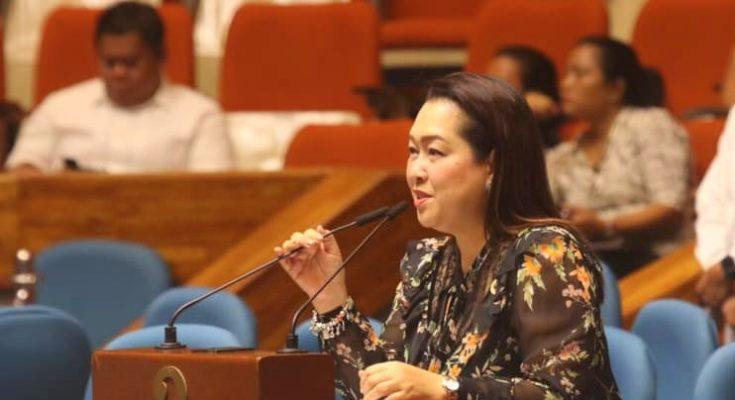 Cong. Lucille Nava of Guimaras privileged speech.