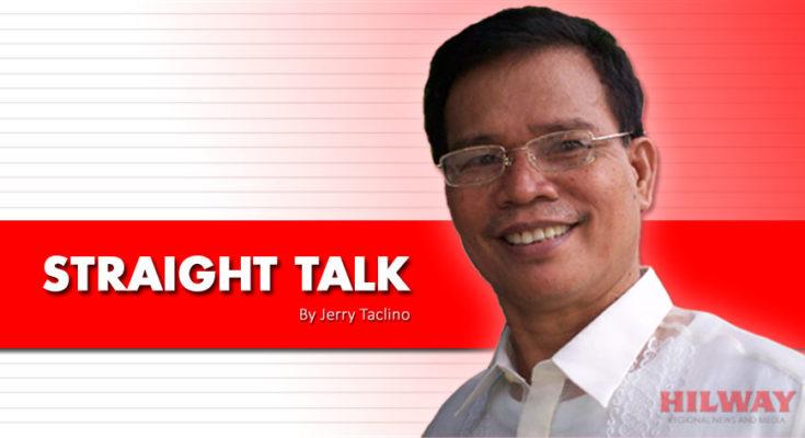 Straight Talk column by Jerry Taclino