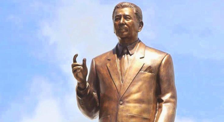 "Bust statue of Rep. Godofredo P. Ramos, ""Father of Aklan""; Aklan 63rd founding anniversary festival logo"