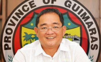 Guimaras Governor Samuel Gumarin.