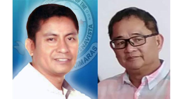 Buenavista Mayor Eugene Reyes and Guimaras Governor Samuel Gumarin