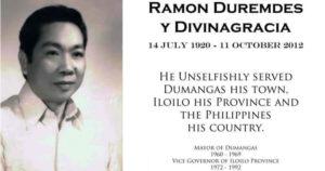 Vice Governor Ramon Duremdes