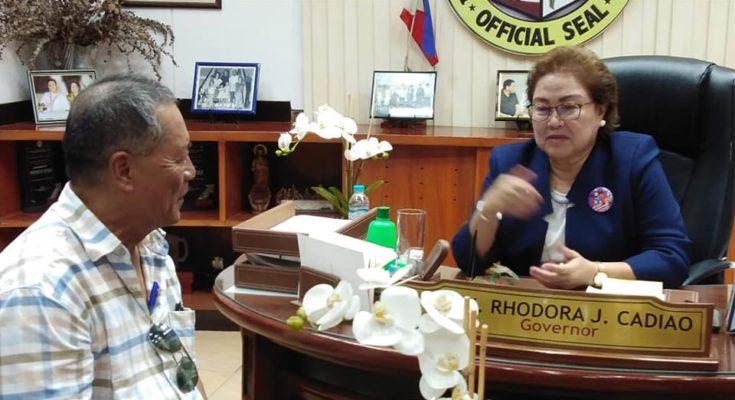 Rhodora Cadiao media interview