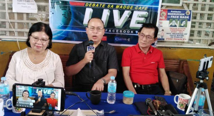 Atty. Michael Margarico at Debate sa Madge Cafe