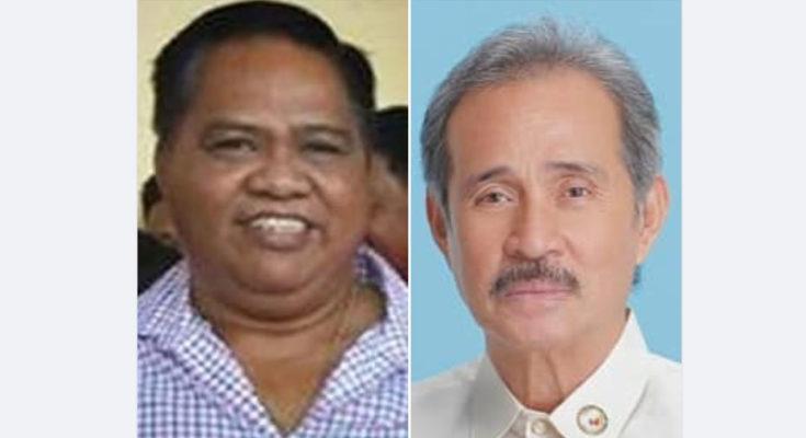 Mayor Leodegario Labao Jr. of Mambusao, president of LMP Capiz chapter; and Rep. Fredenil Castro of Capiz 2nd district.