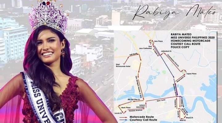 Miss Universe Philippines 2020 Rabiya Mateo homecoming