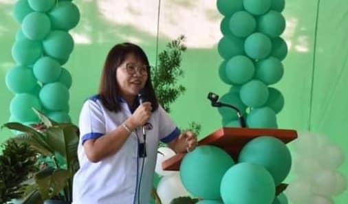 DPWH Regional Director Lea Delfinado
